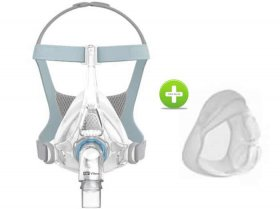 F&P Vitera Full Face CPAP Mask - Small Size (Bonus)