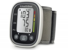 HealthGear Blood Pressure Monitor Wrist Type with Bluetooth