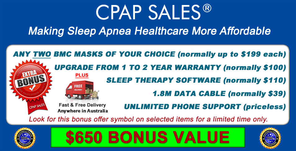 $650 Bonus Value including TWO free masks