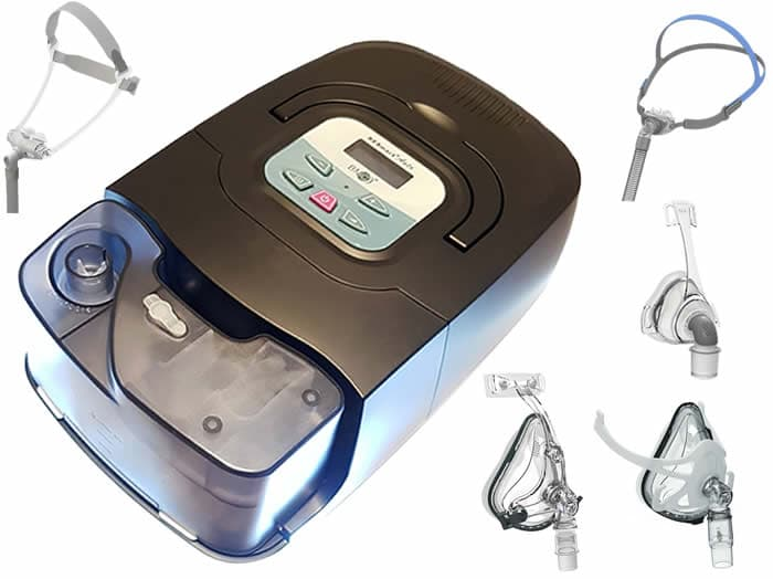 BMC Resmart Auto CPAP with Humidifier and 1 BMC Mask