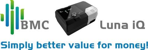 BMC Luna iQ CPAP Machines - Simply Better Value