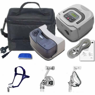 BMC RESmart CPAP Machine with Heated Humidifier and 3 Masks