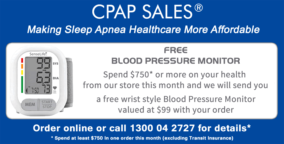 Spend over $750 this month and receive a FREE Blood Pressure Monitor