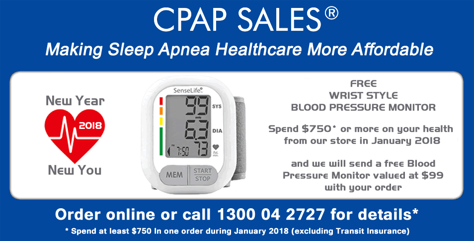 Spend $750 in January 2018 and receive a FREE Blood Pressure Monitor valued at $99