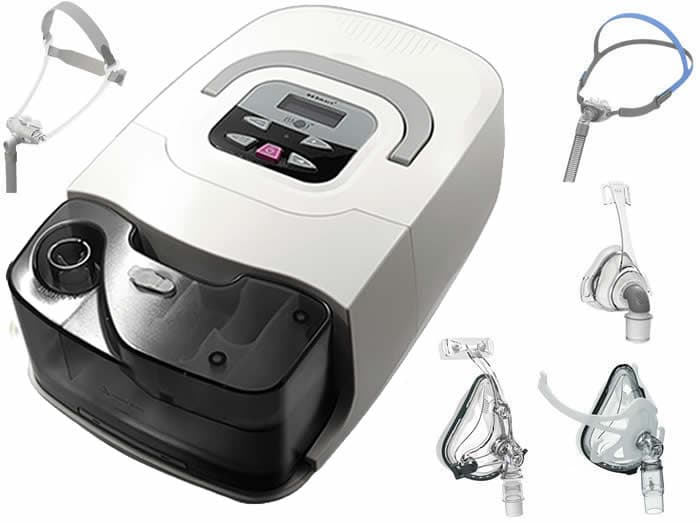 BMC RESmart CPAP Machine with Humidifier and 1 BMC Mask
