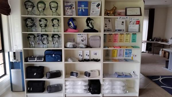 CPAP Sales Display Shelf