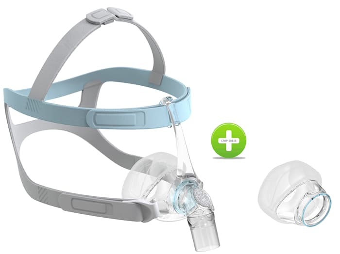 F&P Eson2 Nasal CPAP Mask with Bonus extra Cushion