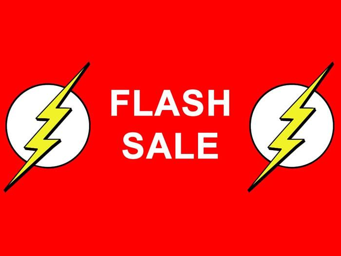 FLASH SALE - 1 WEEK ONLY