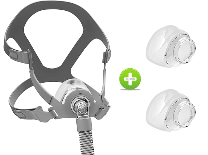 BMC N5B Nasal Mask - All Cushion Sizes Included
