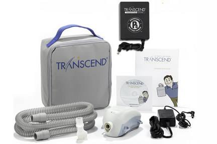 Transcend II Auto CPAP Machine - Starter Kit with P4 Battery