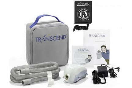 Transcend II Auto CPAP Machine - Starter Kit with P8 Battery