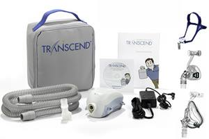 Transcend II Auto CPAP Machine - Starter Kit + BMC Mask