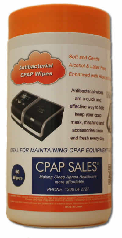 Antibacterial CPAP Wipes