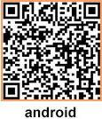 Scan this QR code to download the Android app to your phone