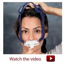BMC Nasal Pillow Mask - How to fit - Watch the Video