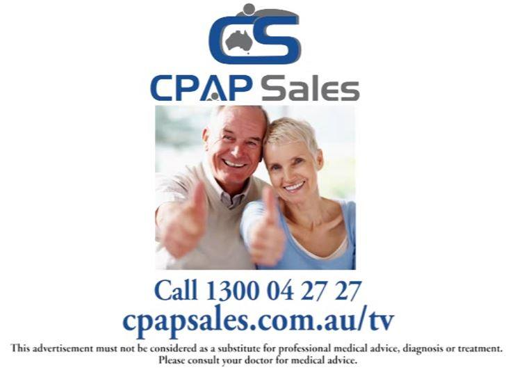 CPAP Sales on TV